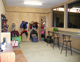 view of tack room